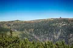 Γιγαντιαία βουνά Τσεχιών Pancavsky vodopad- Στοκ Εικόνα