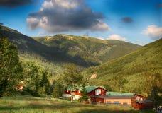 Γιγαντιαία βουνά Τσεχιών Spindleruv mlyn- Στοκ φωτογραφία με δικαίωμα ελεύθερης χρήσης