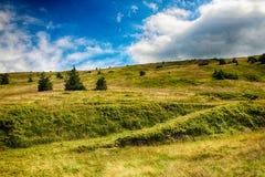 Γιγαντιαία βουνά Τσεχιών Upska raseliniste- Στοκ εικόνα με δικαίωμα ελεύθερης χρήσης