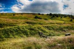 Γιγαντιαία βουνά Τσεχιών Upska raseliniste- Στοκ Φωτογραφία