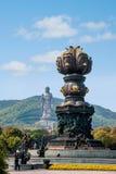 Γιγαντιαία Βούδας Wuxi φυσική περιοχή Lingshan στο λουτρό άρδευσης Kowloon Στοκ φωτογραφίες με δικαίωμα ελεύθερης χρήσης