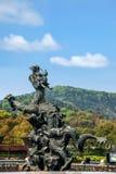 Γιγαντιαία Βούδας Wuxi φυσική περιοχή Lingshan στο λουτρό άρδευσης Kowloon Στοκ φωτογραφία με δικαίωμα ελεύθερης χρήσης