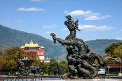 Γιγαντιαία Βούδας Wuxi φυσική περιοχή Lingshan στο λουτρό άρδευσης Kowloon Στοκ εικόνα με δικαίωμα ελεύθερης χρήσης