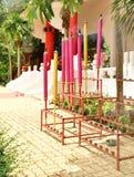 Γιγαντιαία ζωηρόχρωμα ραβδιά κινέζικων ειδώλων Στοκ Εικόνα