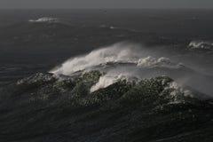 Γιγαντιαία κύματα Στοκ φωτογραφία με δικαίωμα ελεύθερης χρήσης