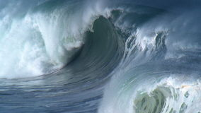 γιγαντιαία κύματα απόθεμα βίντεο