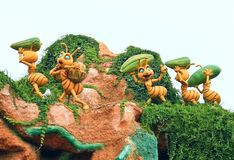 Γιγαντιαία μυρμήγκια στοκ φωτογραφίες με δικαίωμα ελεύθερης χρήσης