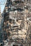 Γιγαντιαία πρόσωπα Angkor Στοκ Εικόνες