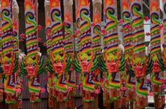 Γιγαντιαία ραβδιά κινέζικων ειδώλων σε Penang, Μαλαισία Στοκ Φωτογραφίες