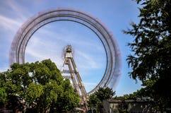 Γιγαντιαία ρόδα Βιέννη στοκ φωτογραφία με δικαίωμα ελεύθερης χρήσης