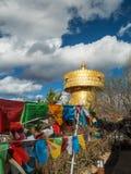 Γιγαντιαία ρόδα επίκλησης Tibetian Στοκ Φωτογραφίες