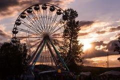 Γιγαντιαία ρόδα Ferris Στοκ Εικόνα