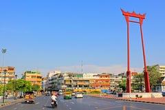 Γιγαντιαία ταλάντευση, Μπανγκόκ, Ταϊλάνδη Στοκ φωτογραφία με δικαίωμα ελεύθερης χρήσης