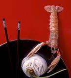 γιγαντιαίες γαρίδες Στοκ φωτογραφία με δικαίωμα ελεύθερης χρήσης