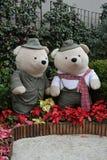 Γιγαντιαίες teddy αρκούδες Στοκ φωτογραφία με δικαίωμα ελεύθερης χρήσης