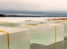 Γιγαντιαίοι κύβοι πάγου Στοκ φωτογραφίες με δικαίωμα ελεύθερης χρήσης