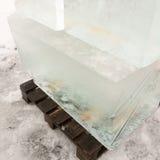 Γιγαντιαίοι κύβοι πάγου Στοκ εικόνα με δικαίωμα ελεύθερης χρήσης