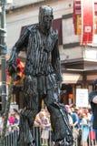 Γιγαντιαίοι περίπατοι χαρακτήρα δέντρων στην παρέλαση Con δράκων της Ατλάντας Στοκ Εικόνες