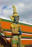 Γιγαντιαίος πράσινος Wat Phra kaew Στοκ Φωτογραφίες
