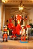 Γιγαντιαίος δράκος Playmobil Στοκ φωτογραφία με δικαίωμα ελεύθερης χρήσης