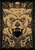 Γιγαντιαίος λύκος απεικόνιση αποθεμάτων