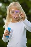 γιγαντιαίος soapbubble φυσήγματος Στοκ φωτογραφία με δικαίωμα ελεύθερης χρήσης
