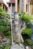 Γιγαντιαίο άγαλμα σε Wat Phra Kaew, Μπανγκόκ, Ταϊλάνδη Στοκ Φωτογραφία