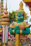 Γιγαντιαίο άγαλμα στο ναό στο ubonratchathani, Ταϊλάνδη Στοκ εικόνα με δικαίωμα ελεύθερης χρήσης