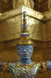 Γιγαντιαίο επικεφαλής μπλε της Ταϊλάνδης τιτάνων Στοκ Εικόνες