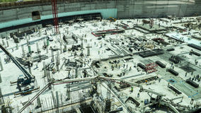 Γιγαντιαίο εργοτάξιο οικοδομής ερήμων Στοκ Εικόνες
