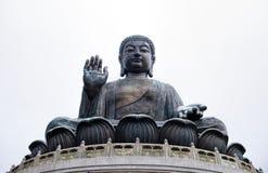 Γιγαντιαίο μοναστήρι Buddha/Po Lin στο Χονγκ Κονγκ, νησί Lantau Στοκ εικόνες με δικαίωμα ελεύθερης χρήσης