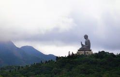 Γιγαντιαίο μοναστήρι Buddha/Po Lin στο Χονγκ Κονγκ, νησί Lantau Στοκ φωτογραφία με δικαίωμα ελεύθερης χρήσης