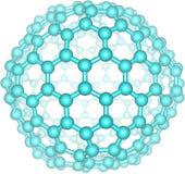 Γιγαντιαίο μόριο fullerene C240 Στοκ Εικόνες