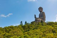 Γιγαντιαίο νησί του Βούδα Lantau στο Χονγκ Κονγκ Στοκ Φωτογραφίες