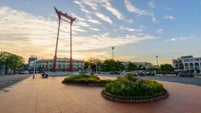 Γιγαντιαίο ορόσημο ταλάντευσης στην πόλη/το Σάο Ching Cha φιλμ μικρού μήκους
