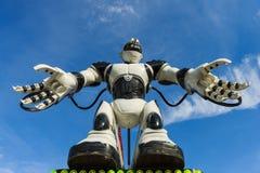 Γιγαντιαίο ρομπότ στην έκθεση στη Λωζάνη στοκ φωτογραφίες