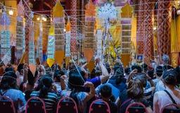 Γιγαντιαίο τελετουργικό προσευχής Στοκ Εικόνες