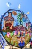 Γιγαντιαίο φεστιβάλ ικτίνων, ημέρα όλων των Αγίων, Γουατεμάλα Στοκ εικόνα με δικαίωμα ελεύθερης χρήσης