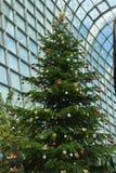 Γιγαντιαίο χριστουγεννιάτικο δέντρο Στοκ φωτογραφία με δικαίωμα ελεύθερης χρήσης