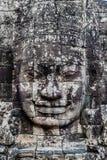 Γιγαντιαίο angkor thom Καμπότζη ναών προσώπου prasat bayon Στοκ Εικόνες