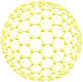 Γιγαντιαίο fullerene C500 Στοκ Φωτογραφίες