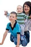 γιοι δύο μητέρων Στοκ εικόνες με δικαίωμα ελεύθερης χρήσης