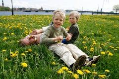 γιοι μητέρων λιβαδιών Στοκ εικόνες με δικαίωμα ελεύθερης χρήσης