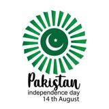 Γιορτάζοντας δημιουργική διανυσματική απεικόνιση ημέρας της ανεξαρτησίας του Πακιστάν 14 Αυγούστου ανεξαρτησία του Πακιστάν r ελεύθερη απεικόνιση δικαιώματος