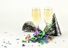 γιορτάζοντας νέα έτη Στοκ Εικόνες