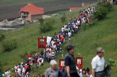 γιορτάζοντας ουγγρικ&omicro στοκ εικόνα