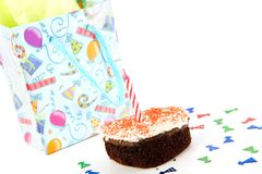 Γιορτάστε γενέθλια στοκ φωτογραφία με δικαίωμα ελεύθερης χρήσης
