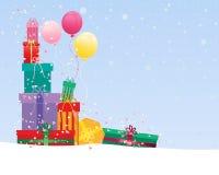γιορτάστε τη φθορά santa μητέρων καπέλων κορών Χριστουγέννων εορτασμού Στοκ εικόνα με δικαίωμα ελεύθερης χρήσης