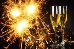 Γιορτάστε το νέο έτος Στοκ εικόνα με δικαίωμα ελεύθερης χρήσης