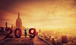Γιορτάστε το 2019 Στοκ Φωτογραφίες
